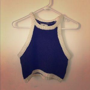 UNIF knit crop top